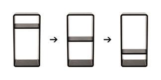 3段階の取り付けイメージ