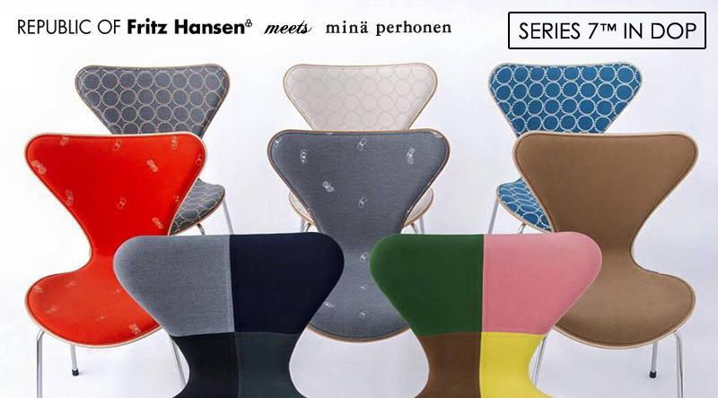 SERIES 7™ IN DOP / REPUBLIC OF Fritz Hansen × minä perhonen (セブンチェア IN DOP / フリッツ・ハンセン × ミナ ペルホネン) 看板