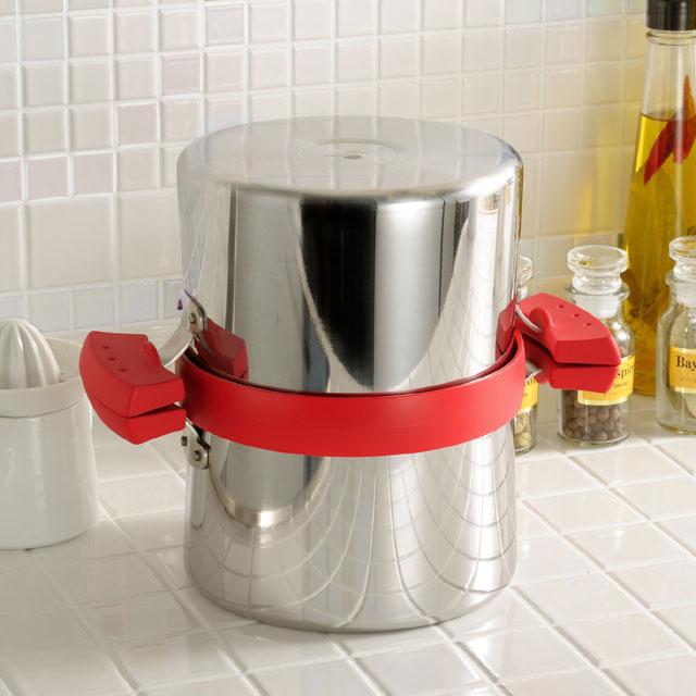 鍋に蓋をして保存する