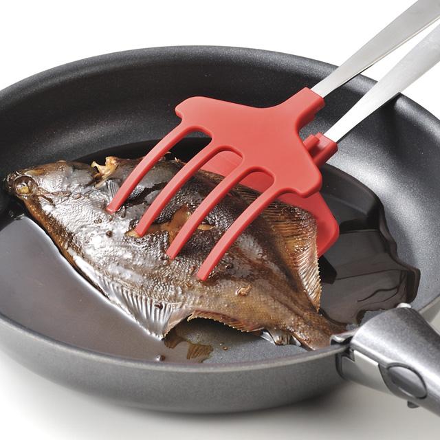フライパンでの煮魚も