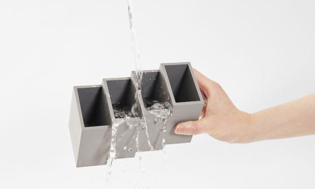 水で洗えます