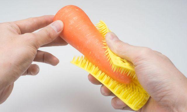 根菜の泥落としに。