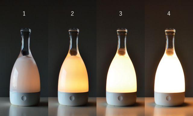 光が4段階で選べます。
