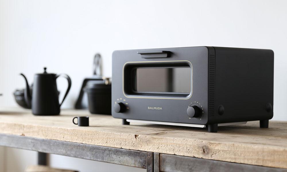 バルミューダ ザ・トースター ブラック BALMUDA The Toaster ...