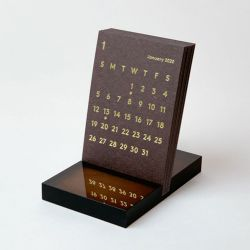 カレンダー2020 CLARA / ブラウン