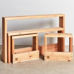 テーブル + ベンチ + スツール / MA シリーズ (石巻工房)