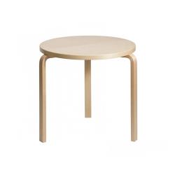 テーブル90C / バーチ φ60×H72cm