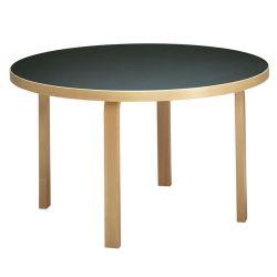 テーブル91 / ブラック φ125×72cm