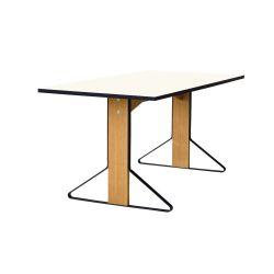 カアリテーブル REB012 / ホワイト W160×D80cm artek
