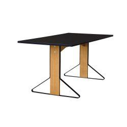 カアリテーブル REB012 / ブラック W160×D80cm artek