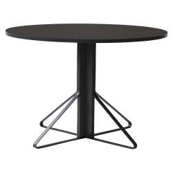 【在庫限り】カアリテーブル REB004 / ブラック φ110×H74cm