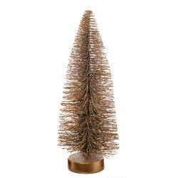 クリスマスツリー H25cm / ゴールド