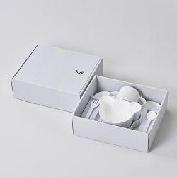 ギフトボックス ベア カトラリー グレー / Gift box bear cutlery