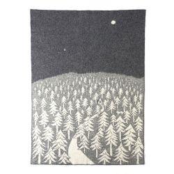 ウール シングルブランケット 130×180cm / HOUES IN THE FOREST