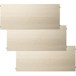シェルフ3枚組 78×30cm / ウッド