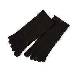 レディス5本指靴下 / ブラック WSK-03-36
