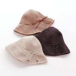 手編み帽子 (ささ和紙 / sasawashi)