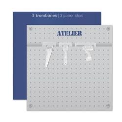 【アウトレット】 DIYペーパークリップ 3個セット