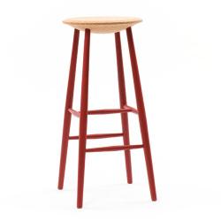 【アウトレット】 バースツール DRIFTED stool / レッド (DISCIPLINe)