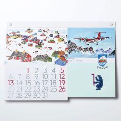 カレンダー 2020 / World Traveler ワールドトラベラー