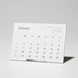 カレンダー 2021 / TYPEFACE Berkey  卓上カレンダー
