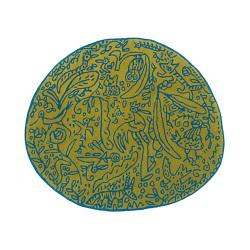 ラグマット127×140cm