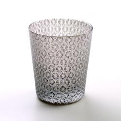 黒被菊繋 切り子グラス