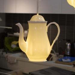 ペンダントライト LED電球 (Teapot1)