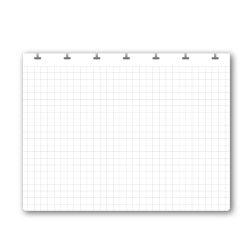 フレックスノート リフィル 方眼 D7・A5変型 (アップワードノート)