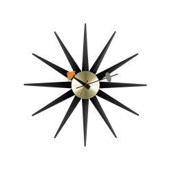 サンバーストクロック ブラック×ブラス / Sunburst Clock