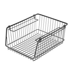オープンバスケット M A4サイズ / ブラック