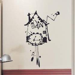 【アウトレット】ウォールシール・鳩時計