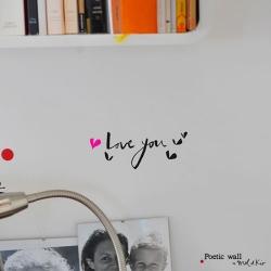 【アウトレット】 ウォールシール ・ Love you