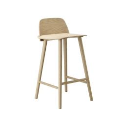 ナード バー スツール 65cm (muuto / Nerd bar stool)