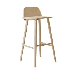ナード バー スツール 75cm (muuto / Nerd bar stool)