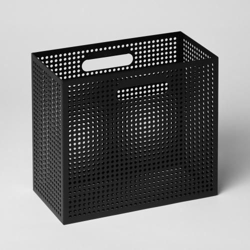 メタルボックスS 収納ボックス ブラック / THE BOX (Nak Nak / ナックナック)