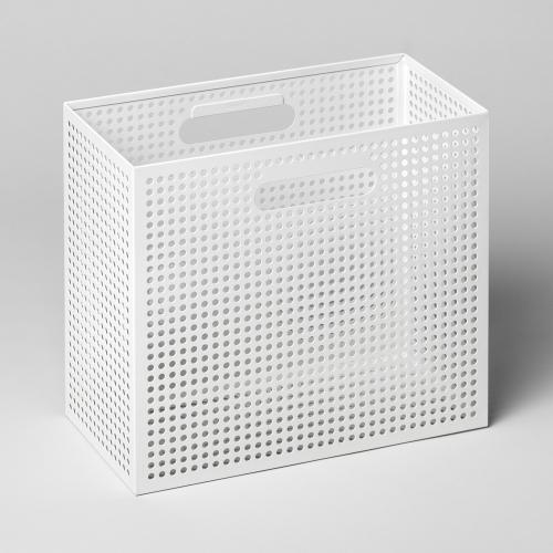メタルボックスS 収納ボックス ホワイト / THE BOX (Nak Nak / ナックナック)