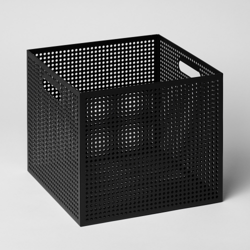 メタルボックスL 収納ボックス ブラック / THE BOX (Nak Nak / ナックナック)
