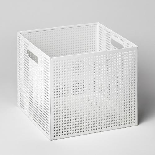 メタルボックスL 収納ボックス ホワイト / THE BOX (Nak Nak / ナックナック)
