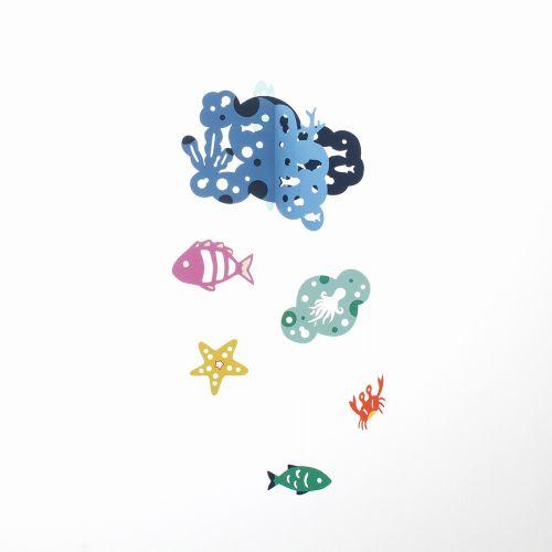 【在庫限り】海の仲間たち / Happy Bubbles (Manu Mobiles / マニュモビールズ)