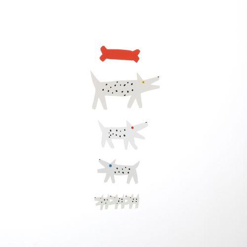 【在庫限り】モビールいぬ / Dogs (Manu Mobiles / マニュモビールズ)