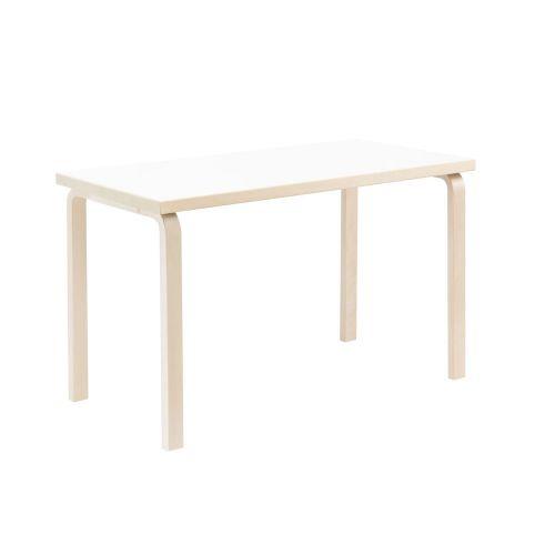 テーブル80A / ホワイトラミネート W120×D60cm (Artek / アルテック)