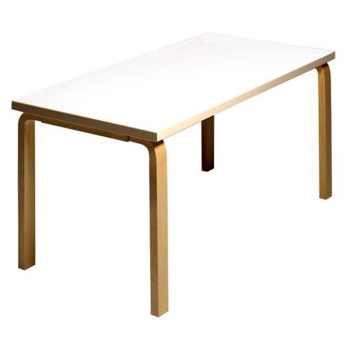 テーブル81A / ホワイトラミネート W150×D75cm (Artek / アルテック)