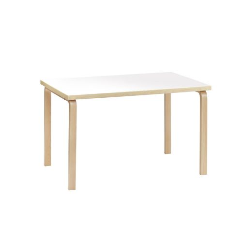 テーブル81B / ホワイトラミネート W120×D75cm (Artek / アルテック)