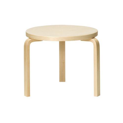 テーブル90D / バーチ φ48×H44cm (Artek / アルテック)