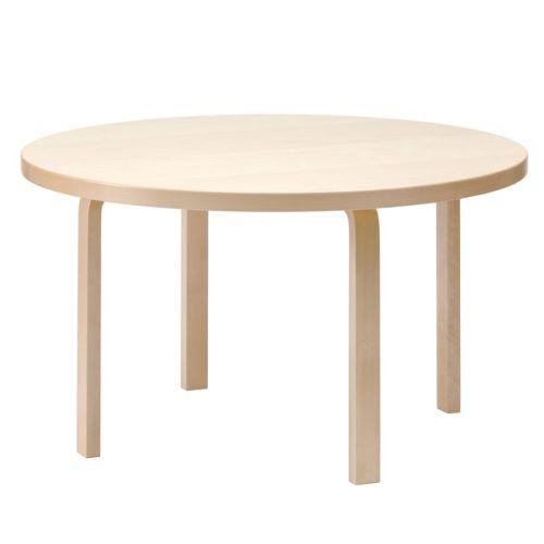 テーブル91 / バーチ φ125×72cm (Artek / アルテック)