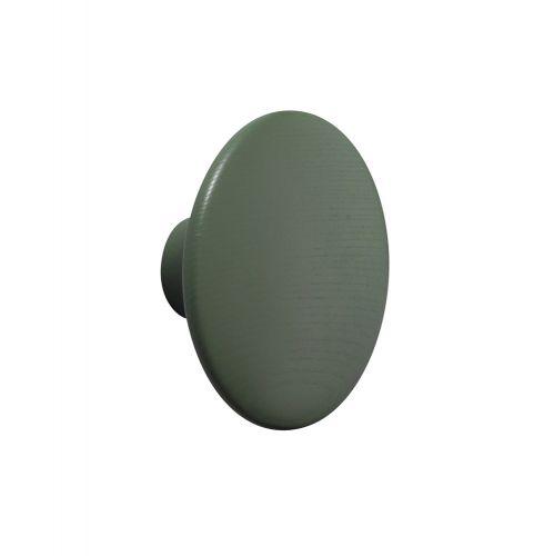 コートフック φ9cm ドットウッドS ダスティーグリーン / Dots wood (muuto / ムート)