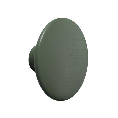 コートフック φ13cm ドットウッドM ダスティーグリーン / Dots wood (muuto / ムート)