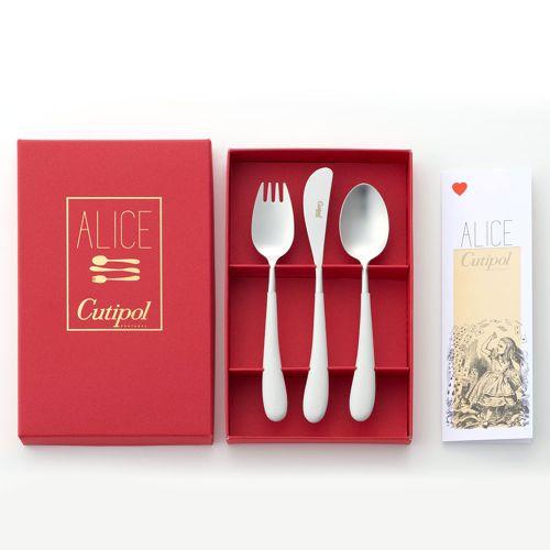 クチポール アリスギフト3本セット / ホワイト×シルバー (Cutipol Alice set)