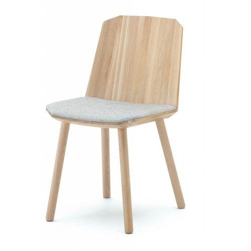カラーウッドサイドチェア Colour Wood Side Chair / ペールナチュラル (カリモクニュースタンダード)